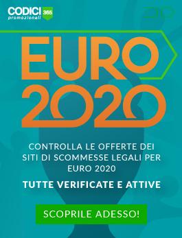 Euro 2020 bonus scommesse