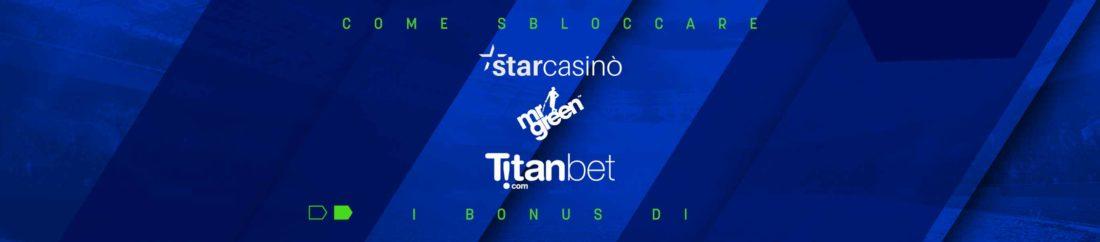 Come sbloccare i bonus di StarCasino