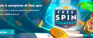 il campionato di free spin