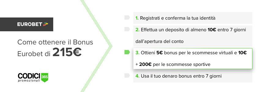 Codice promozionale Eurobet