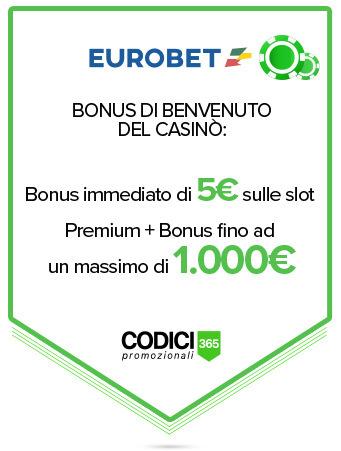 eurobet bonus benvenuto