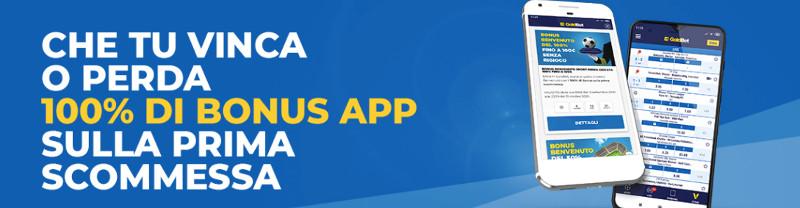 Codice Promozione Goldbet app