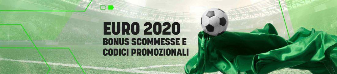 euro 2020 codice bonus scommesse