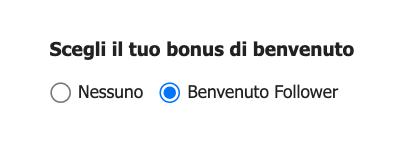 codice bonus betpoint