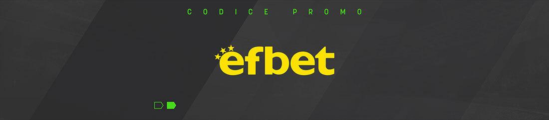 Codice Promo Efbet